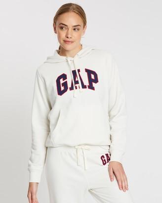 Gap Logo Carbonised Pullover Hoodie