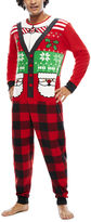Asstd National Brand Ugly Sweater Santa Union Suit