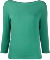Nuur long sleeve relaxed knit top