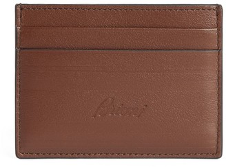 Brioni Leather Card Holder