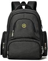 HEYI Baby Diaper Bag Handbag Smart Organizer Waterproof Diaper Backpack with Changing Pad Stroller Straps