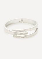 Bebe Crystal Claw Bracelet