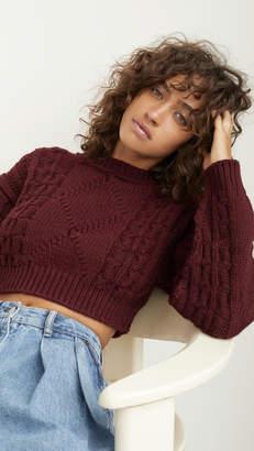 Acne Studios Katinka Reverse Cable Sweater