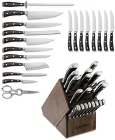 Wusthof Ikon Blackwood 20-Piece Knife Block Set