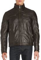 Rogue Leather Zip-Up Jacket