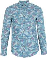 Camo Multi Paisley Print Shirt