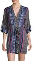 In Bloom Patterned Robe