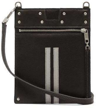Rick Owens Cross-body Grained-leather Pouch - Mens - Black