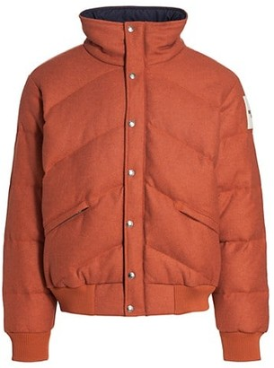 The North Face Brown Label Larkspur Down Bomber Jacket