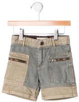 Stella McCartney Girls' Patterned Denim Shorts