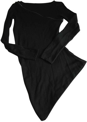 Philosophy di Alberta Ferretti Black Wool Knitwear