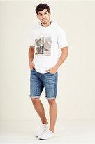 True Religion Geno Embroidered Pocket Mens Short