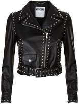 Moschino Studded Biker Jacket