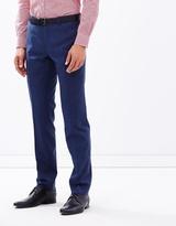 Alberto Blue Suit Trousers
