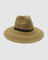 Thumbnail for your product : Morgan & Taylor Women's Brown Hats - Cyrell Fedora - Size One Size at The Iconic