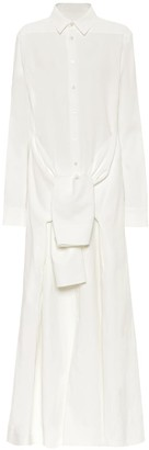 Jil Sander Linen shirt dress