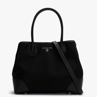 Michael Kors Mercer Gallery Black Nylon Tote Bag