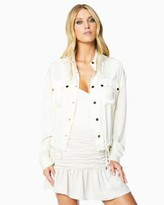 Ramy Brook Shiny Lia Jacket
