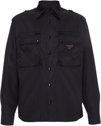 Prada Shell Shirt Jacket