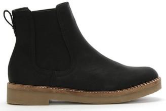 Df By Daniel Sorbie Black Crepe Sole Chelsea Boots