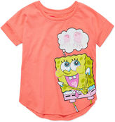 SpongeBob Squarepants Sponge Bob Short-Sleeve Jelly Tee - Preschool Girls 4-6x