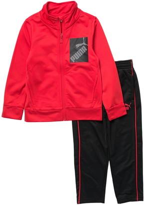 Puma Logo Track Jacket & Pants Set