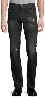 Point Zero Distressed Jeans