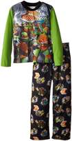 Nickelodeon Teenage Mutant Ninja Turtles Little Boys' Pizza Pajama Set