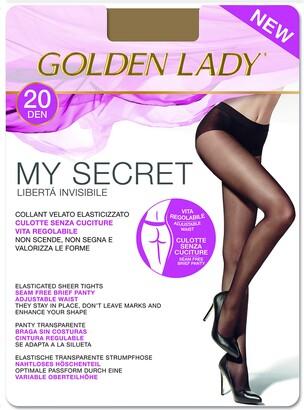 Golden Lady Goldenlady Women's Mysecret 20 Hold-Up Stockings 20 DEN