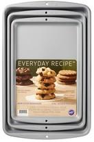 Wilton 3Pc Cookie Sheet Carbon - Grey