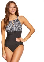 Penbrooke Double Diamond High Neck One Piece Swimsuit 8150408