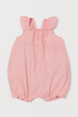 H&M Sleeveless Cotton Romper Suit