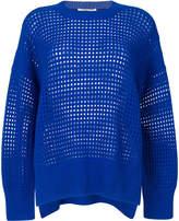 Agnona open knit sweater