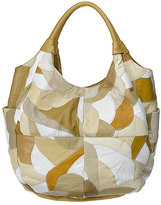 Nine West Multi Colored Patchwork Hobo