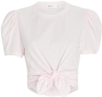 A.L.C. Milo Tie-Front T-Shirt