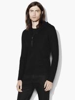 John Varvatos Half-Zip Pullover Hoodie