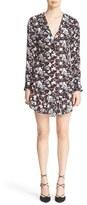Veronica Beard Women's 'Franklin' Floral Print Silk Dress