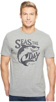 Life is Good Seas the Day Crusher Tee Men's T Shirt