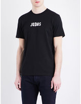 Givenchy Judas-print Cotton-jersey T-shirt