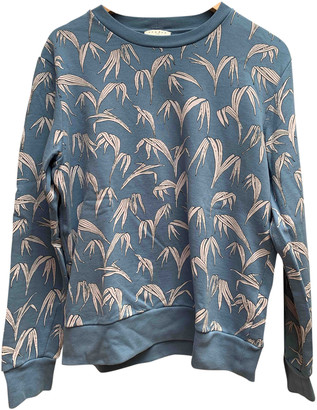 Sandro Spring Summer 2019 Blue Cotton Knitwear & Sweatshirts