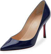 Christian Louboutin Decoltish Patent 85mm Red Sole Pump