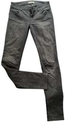 Bel Air Anthracite Cotton Jeans for Women
