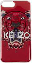 Kenzo Red 3D Tiger iPhone 7 Plus Case