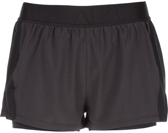 ALALA Mesh-Detail Court Shorts