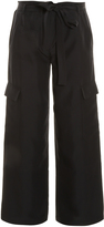 Helmut Lang Cropped Cargo Trousers
