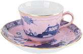 Richard Ginori 1735 - Oriente Italiano Azalea Coffee Cup & Saucer