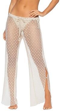 Isabella Collection Rose Milan Split Leg Swim Cover-Up Pants