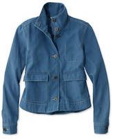 L.L. Bean Signature Cropped Swing Jacket