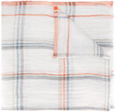 Loro Piana Roxburg scarf - men - Linen/Flax - One Size