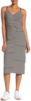 Joie Colson Striped Midi Dress